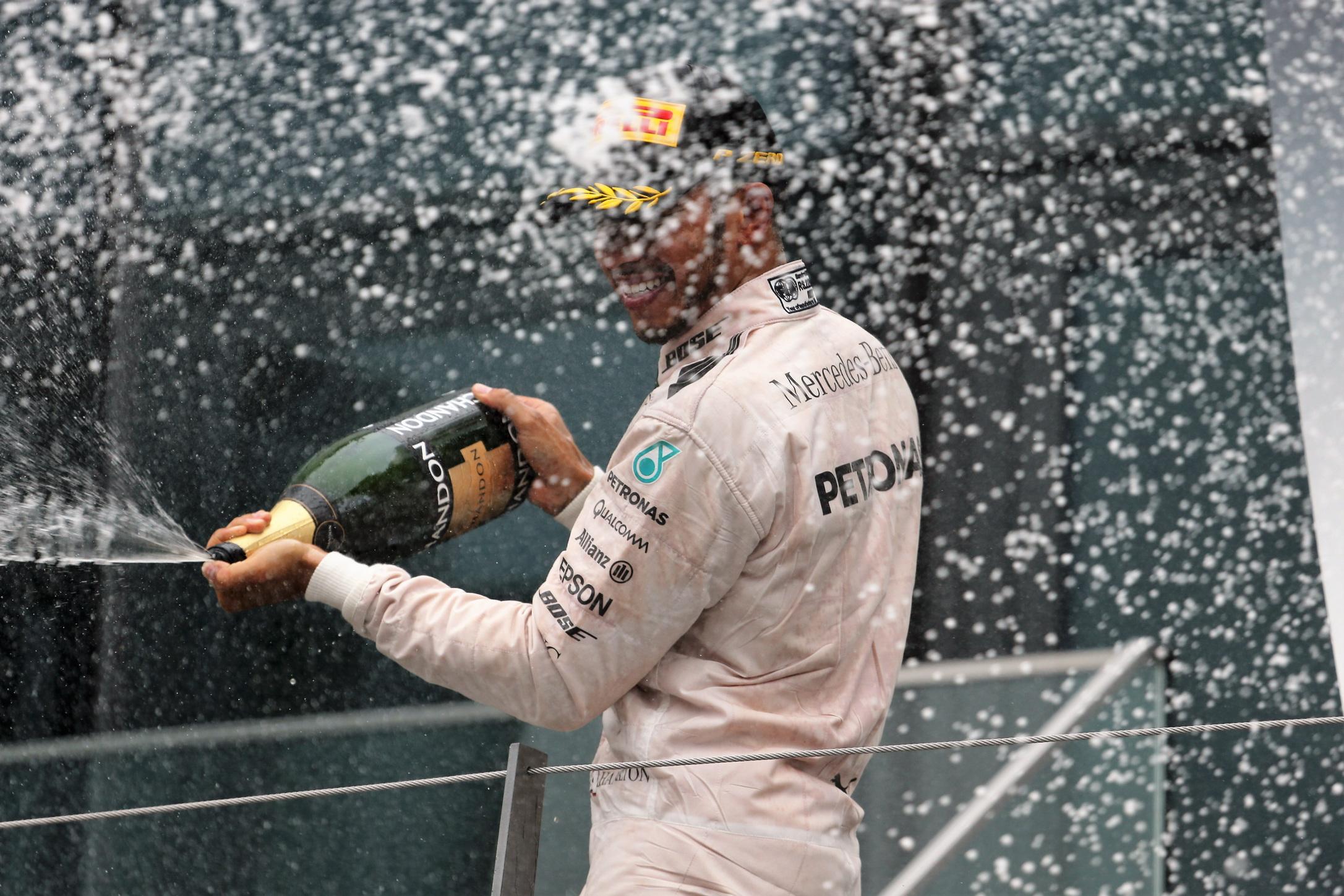 Hamilton wins home grand prix in Silverstone