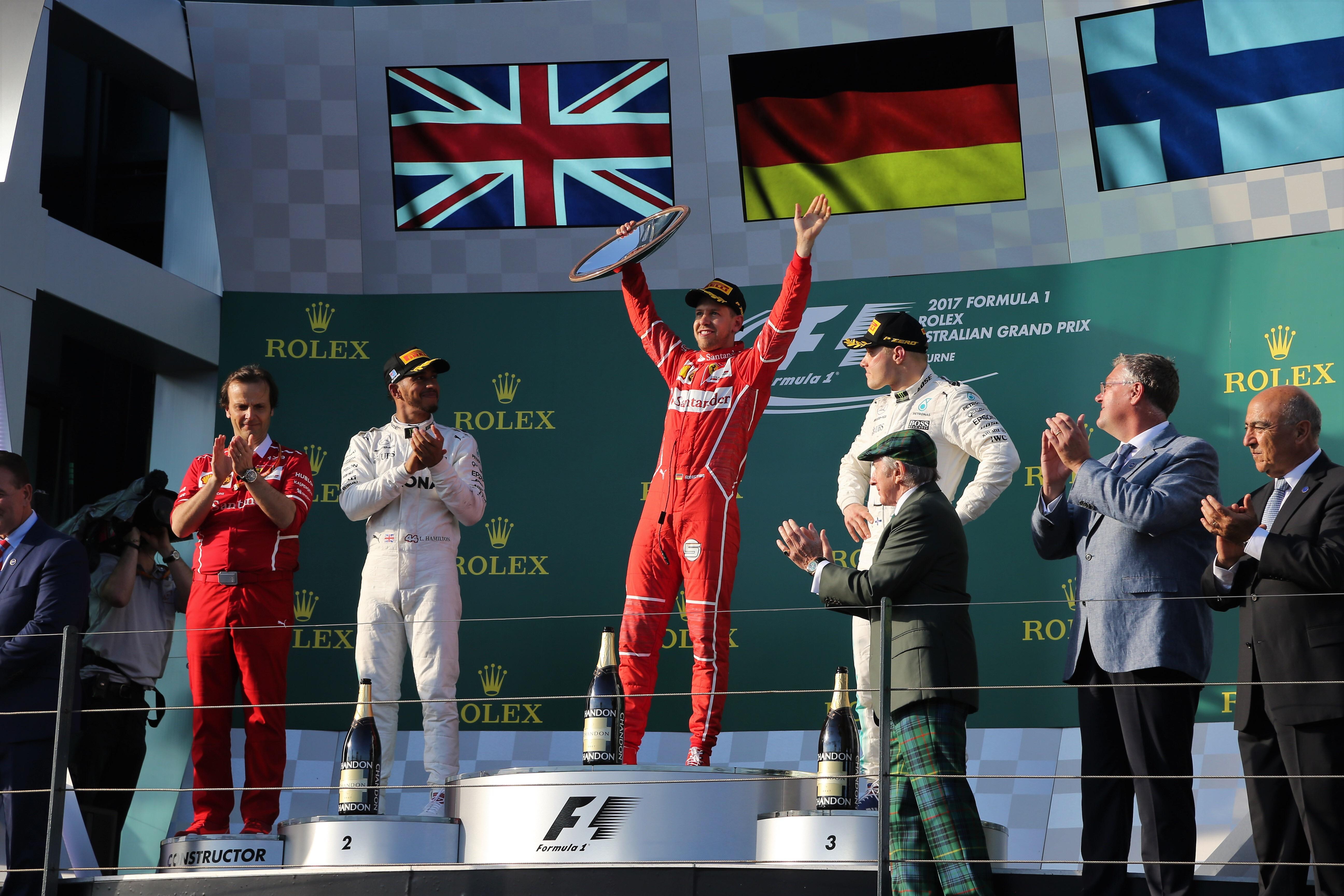 Vettel wins in Melbourne