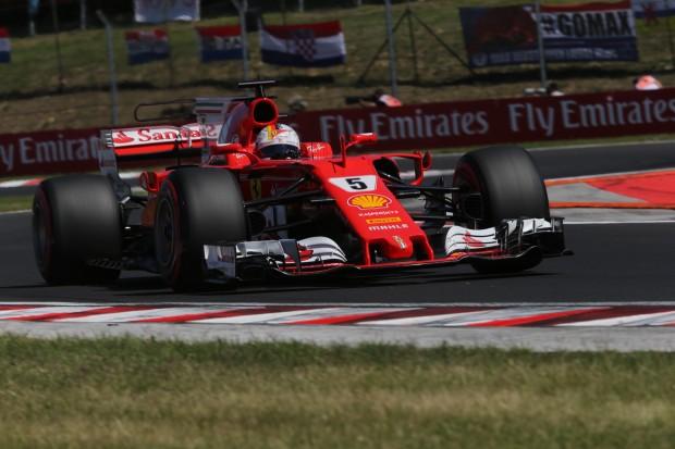 Ferrari back on top in Budapest