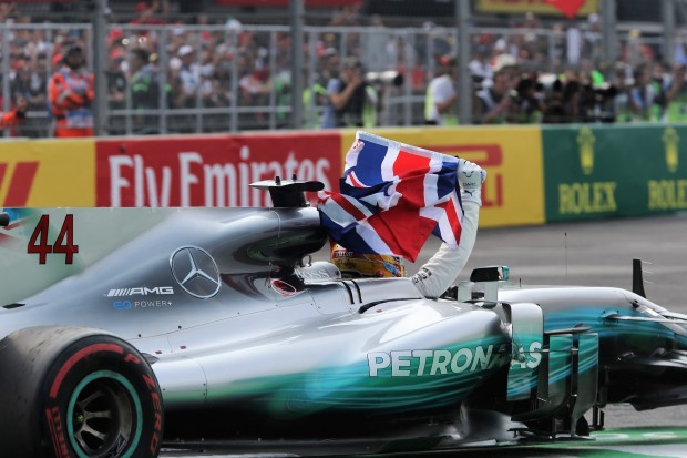 Mexico City: Lewis Hamilton wins 4th driver's world-championship title