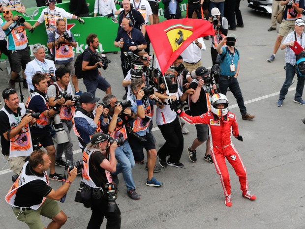 Sebastian Vettel wins in Montreal and leads the championship