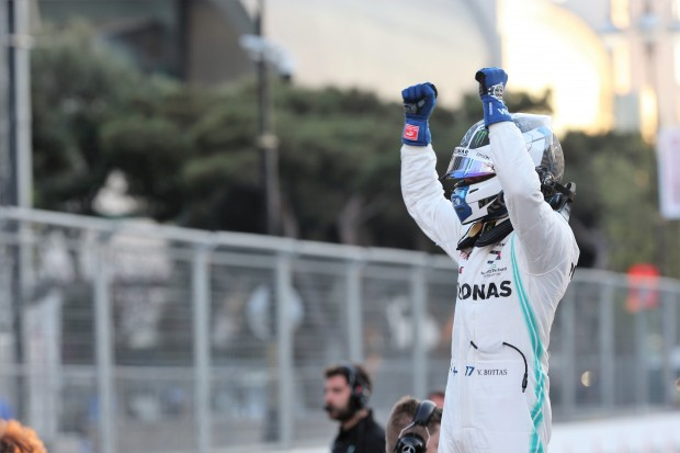 Bottas wins in front of Hamilton and Vettel in Baku