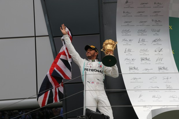 Hamilton wins British GP for 6th time