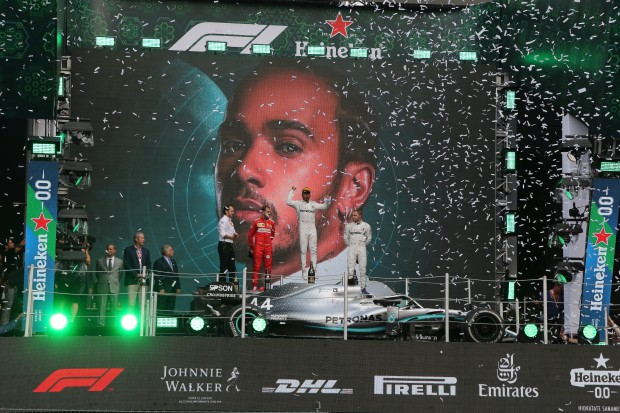 Lewis wins by surprise in Mexico