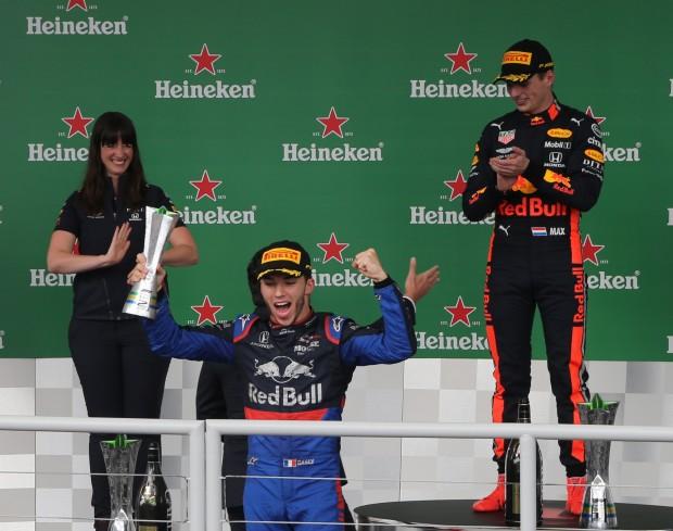 Max Verstappen wins in Brasil