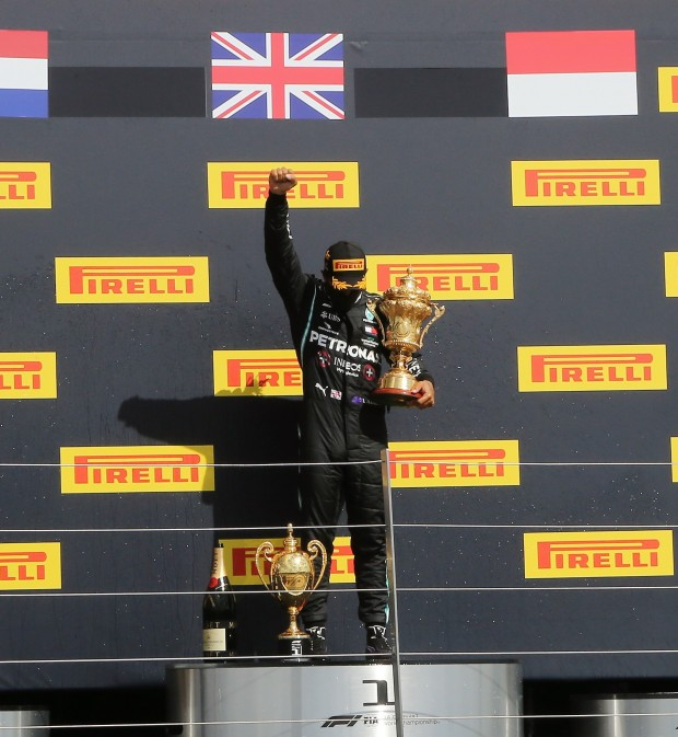 Lewis wins with Threewheeler