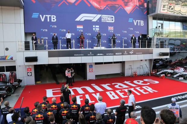 Valtterie Bottas wins in Russia
