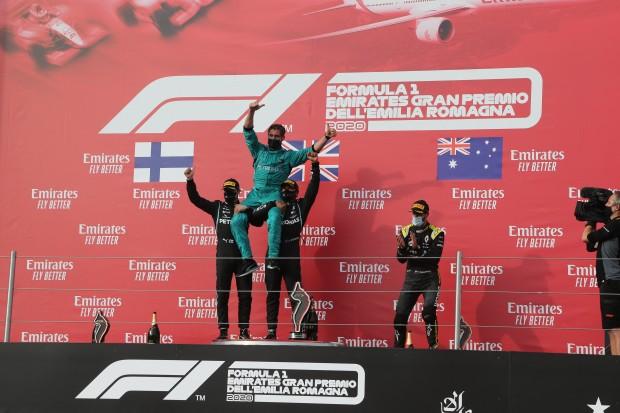 Imola:Mercedes gewinnt 7. Konstrukteurstitel