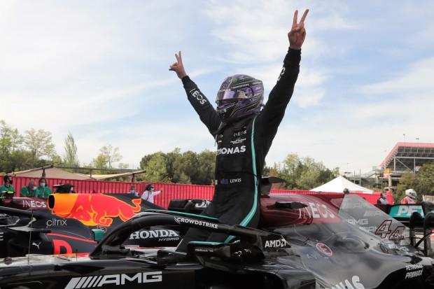 Lewis gewinnt spannenden Langweiler in Spanien!